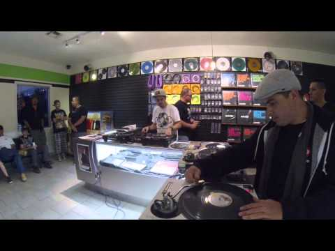 Turntable Scratch Session with Spinobi, Ricky Jay, Clever DJ at