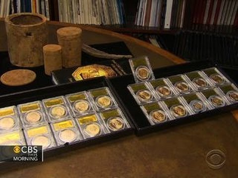 Buried treasure: California couple finds rare U.S. gold coins in backyard