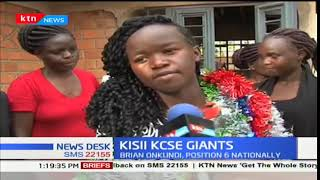 The two top candidates from Kisii County