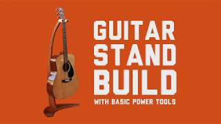 How To Make A Guitar Stand Out Of Wood Free Online Videos Best