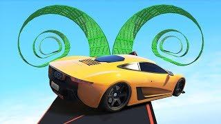 Троллинг гонка с ловушками! Гонки на машинах в GTA 5 Online | MYE
