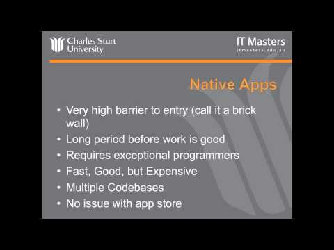 Lecture 1: Free Short Course - Cross-Platform Mobile App ...