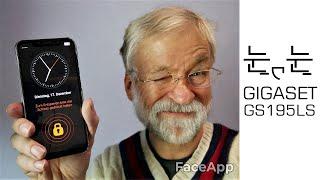 Gigaset GS195LS - Modernes Senioren Smartphone mit Android Life Series OS - Moschuss.de