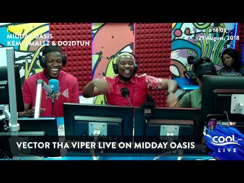 Vector drops a freestyle on Midday Oasis with Do2dtun and Kemismallzz.