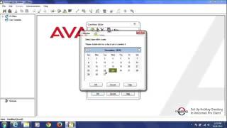 How to Set Up Holiday Greetings via Avaya Voicemail Pro Client
