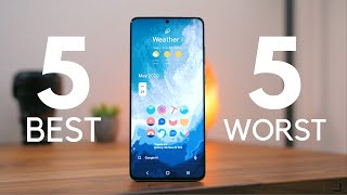 Samsung Galaxy S20+: 5 best and 5 worst things