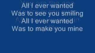 Basshunter - All I ever wanted (lyrics)