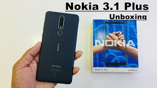 Nokia 3.1 Plus Unboxing and Hand on Review In Hindi