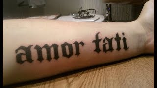 Как сделать себе удочку самому татуировку