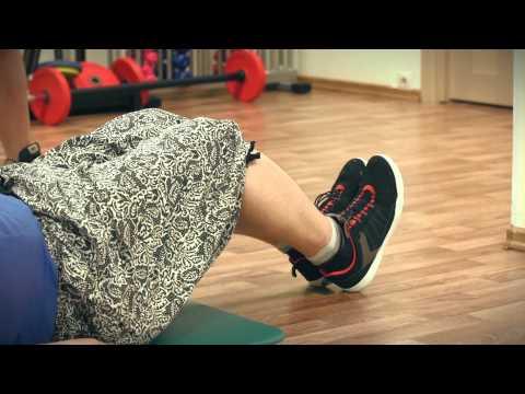 Видео упражнения для сжигания жира на животе