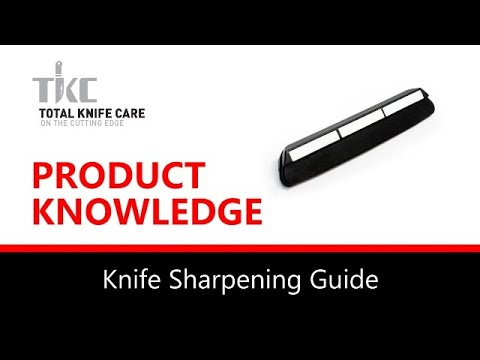 Product Knowledge/Demo - KNIFE SHARPENING GUIDE