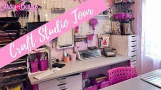 Craft Room Studio Tour