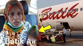 Viral, Alasan Ganggu Kenyamanan, Bayi Penderita Tumor Mata Diturunkan dari Pesawat Batik Air