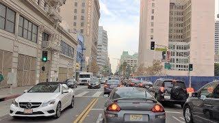 Driving Downtown - LA
