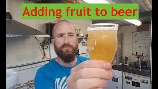 How To Add Fruit To Beer | Rhubarb Saison | Secondary To Tasting 😋