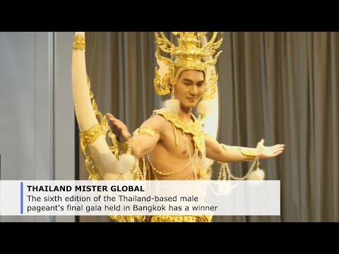 Mister South Korea crowned at Thailand's Mister Global pageant