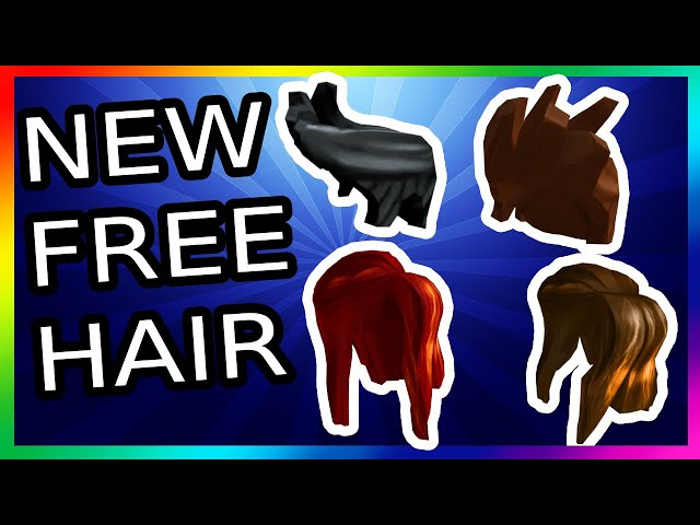 How To Get Free Girl Hair On Roblox
