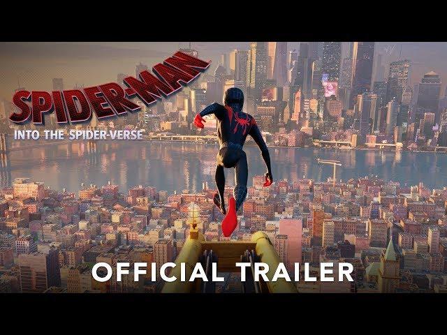 SPIDER-MAN:INTO THE SPIDER-VERSE 3D Trailer