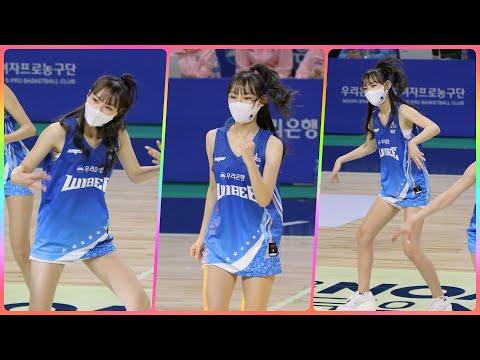 [4K] 치어리더 정희정 직캠 (cheerleader) - 작전타임 공연 @여자농구(우리은행)/201130/…