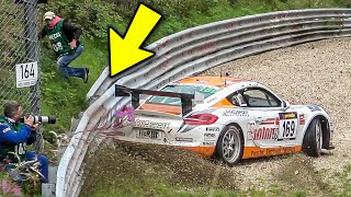 LUCK or SKILL? 😲 These Drivers BARELY Avoided Crashing On The Nürburgring Nordschleife!