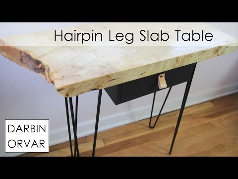 Rockler slab table | Darbin Orvar