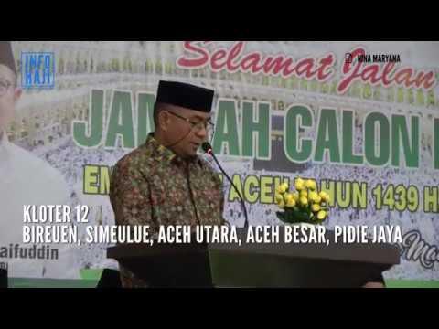 Informasi Haji Kloter 12 Embarkasi Aceh Tahun 2018