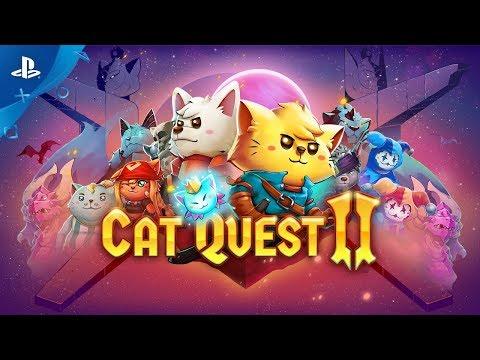 Cat Quest II - Gamescom 2019 Gameplay Trailer | PS4