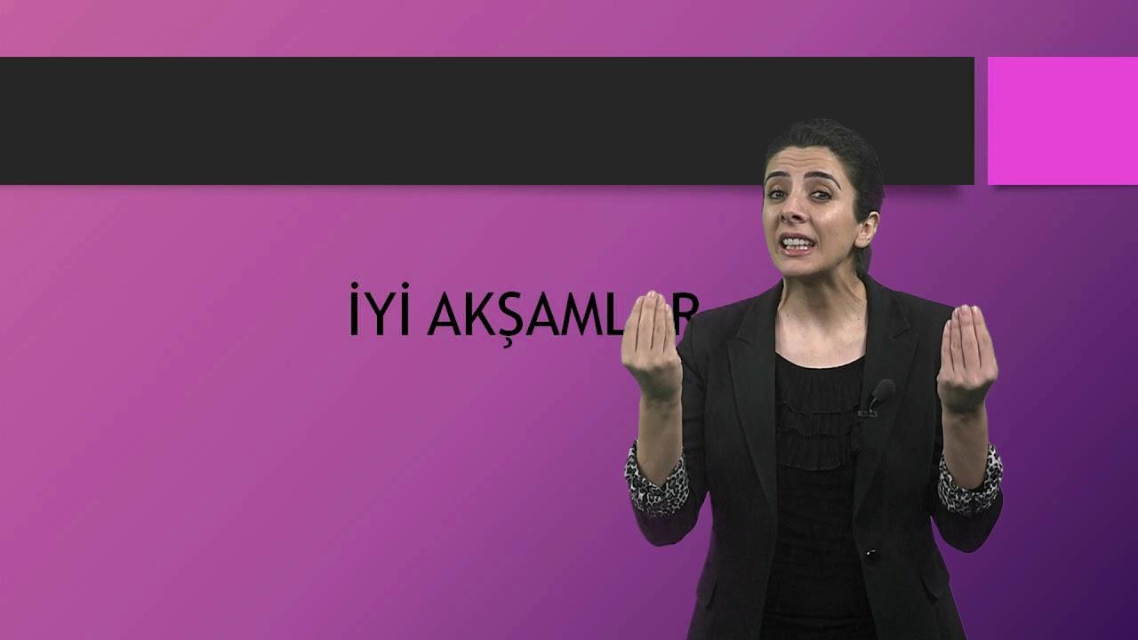 Türk İşaret Dili İlkokul Videoları-1