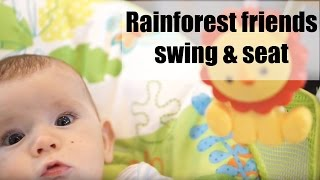 Fisher-Price Rainforest Friends Take-Along Swing & Seat Review   AD