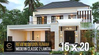 Video Desain Rumah Modern Classic 2 Lantai Bapak Nanda di  Padang, Sumatera Barat