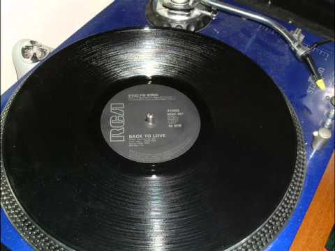 EVELYN KING - BACK TO LOVE 12 INCH