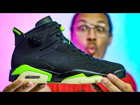 Don't Sleep On This New Sneaker! Air Jordan 6 Electric Green