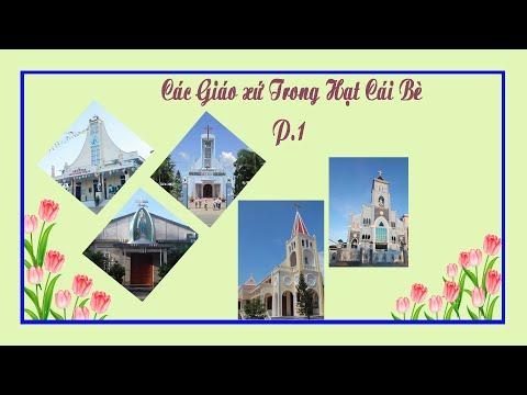 60 năm GPMT: Các Gx:  Ba Giồng, Tân Hiệp, Chợ Bưng, Long Định 1, Kim Sơn.