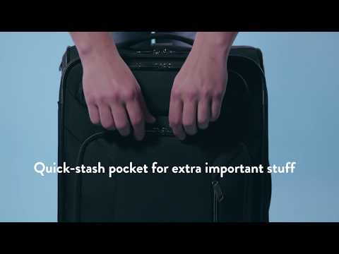 Zoom Along With The American Tourister Zoom Expandable Spinner Luggage