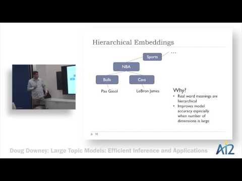 Large Topic Models: Efficient Inference and Applications Thumbnail