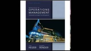 Test Bank For Principles Of Operations Management 9th Edition Heizer