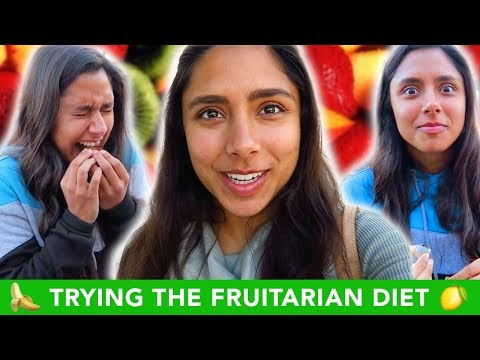 Trying The FRUITARIAN Raw Vegan Diet For A Week ???