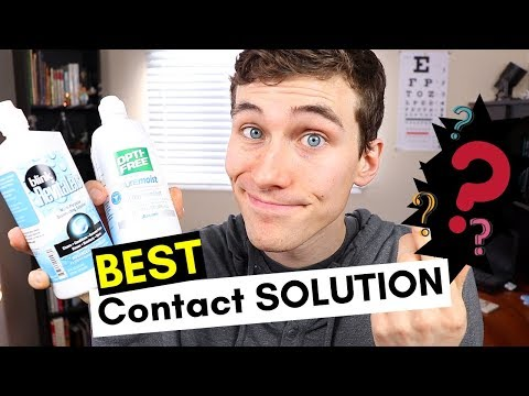 Best Contact Solution - Best Contact Lens Solution for Dry Eyes