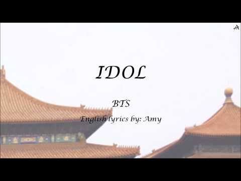 IDOL - English KARAOKE - BTS
