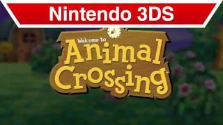 Nintendo 3DS - Animal Crossing E3 Trailer