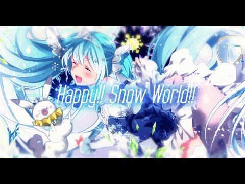 Happy!! Snow World