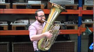 """Simon Sailer At Miraphone Presents The Theme Song """"Back To The Future""""  With 4 Brass Instruments"""
