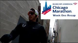 Chicago Marathon 2020 Training: Week One Recap