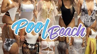 🍑 THE PERFECT POOLSIDE/BEACH OUTFITS | SUMMER SLAY 2018 ♡