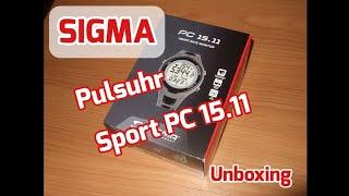 Sigma Sport PC 15.11 Pulsuhr Sportuhr Unboxing