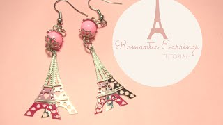 How To Make Romantic Dangling Earrings ♥ Jewelry Making Tutorial ♥ (with PandaHall Materials)