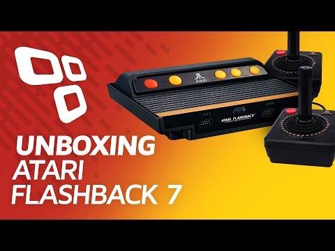 Atari Flashback 7 com 101 jogos - TECTOY