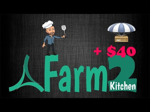 Ganhe $40 dólares no Airdrop da Farm2Kitchen , Fácil e rápido !