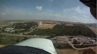 preview picture of video 'C152 ✈ Herzliya - Rosh Pina (65NM)'