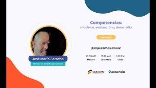 Webinar: Competencias: modelos, evaluación y desarrollo